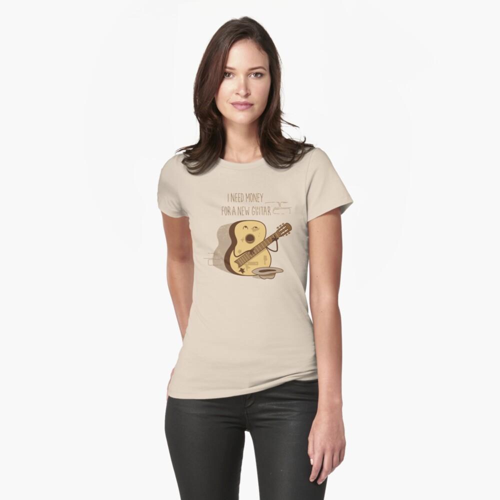NEW GUITAR Womens T-Shirt Front