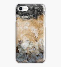 Raw Impact Stone Wall. iPhone Case/Skin