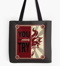 Time to Kill the Dragons Tote Bag
