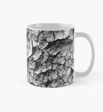 Grey Cracked Peeling Chipped Paint Print, Mug