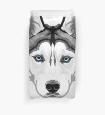 Siberian Husky artwork Duvet Cover
