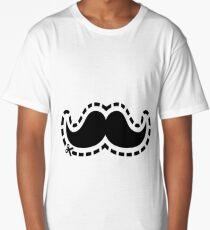 Mustache Long T-Shirt