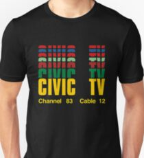 civic tv channel 28 cable 12 Unisex T-Shirt