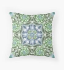Shades of Green Mandala Floor Pillow