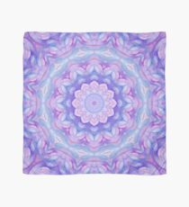 Purple Flower Mandala Scarf
