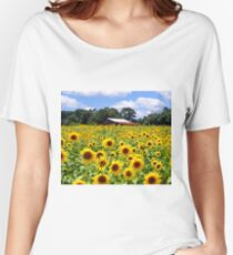 Field of Sunflowers Women's Relaxed Fit T-Shirt