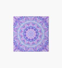 Purple Flower Mandala Art Board