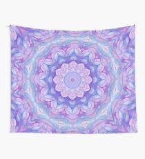 Purple Flower Mandala Wall Tapestry