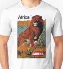 Vintage Africa Travel Poster Unisex T-Shirt