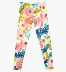 Floral Pop 01 Leggings