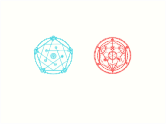Transmutation Circle And Reverse By TheKalebFishStore