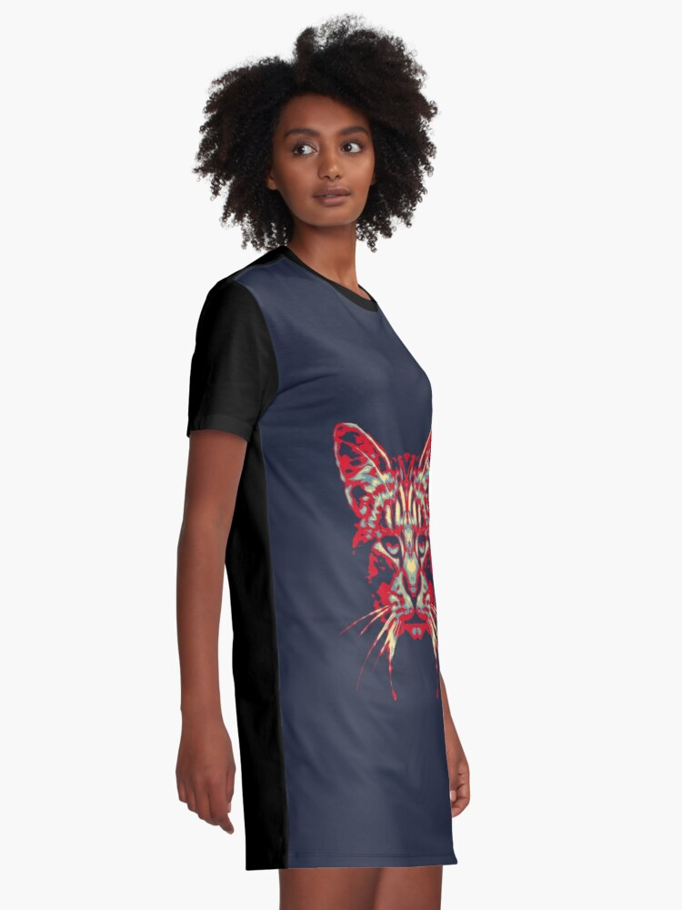 Alternate view of HOPE Graphic T-Shirt Dress