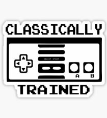 Classically Trained Sticker