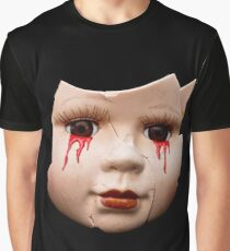 Blood Doll Face II Graphic T-Shirt