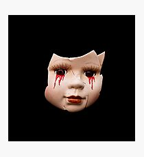 Blood Doll Face II Photographic Print