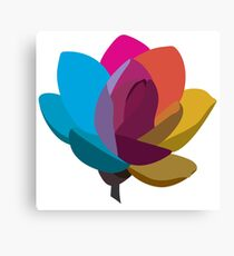 Multicolored Flower Canvas Print