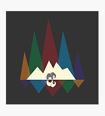 Mountain elephant #redbubble #decor #buyart #artprint Photographic Print