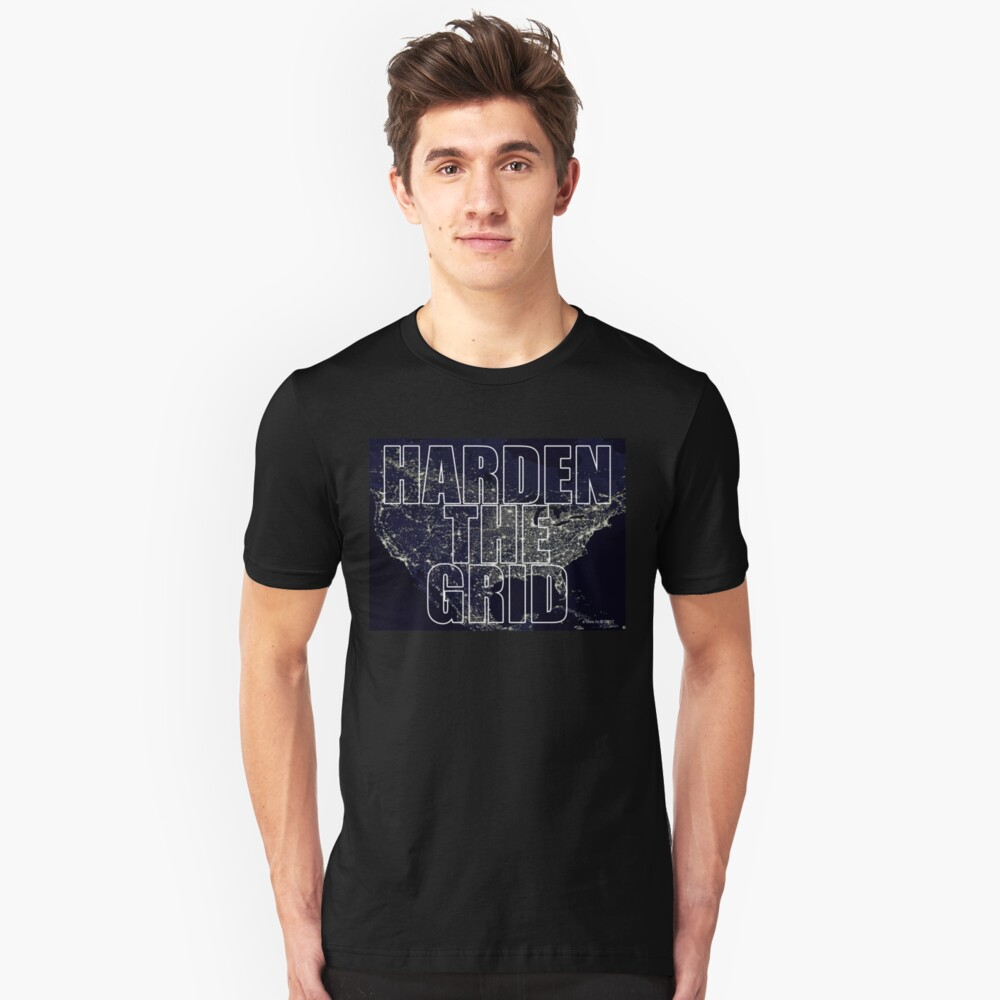 Harden The Grid Unisex T-Shirt Front