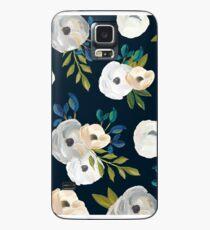 Midnight Florals Case/Skin for Samsung Galaxy