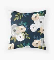 Midnight Florals Floor Pillow