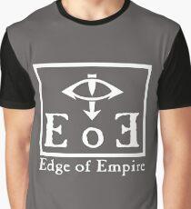 Edge of Empire - White Graphic T-Shirt