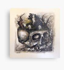 The Gatherer Metal Print
