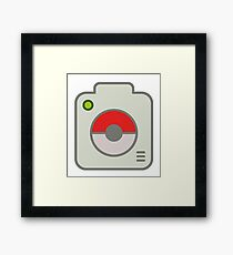 One word....PokeGRAM Framed Print