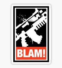 Space Marine Bolter Warhammer 40k Inspired Sticker