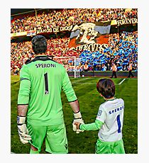 One small step for Speroni, One giant leap for Crystal Palace Photographic Print