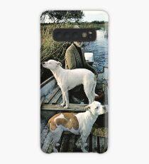 Bart Mann Hunde Boot Hülle & Klebefolie für Samsung Galaxy