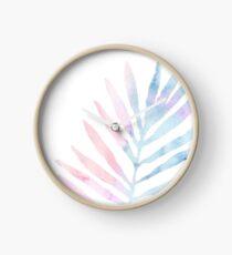Palm Leaf - Tropical Clock