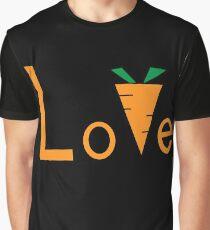 Love carrot Graphic T-Shirt
