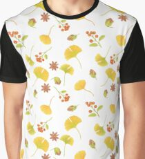 autumn treasures repeating pattern Graphic T-Shirt