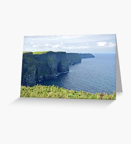 Cliffs of Moher - Ireland Greeting Card