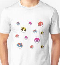 Voltorb pattern T-Shirt