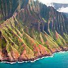The Na Pali Coast of Kauai by Caleb Ward