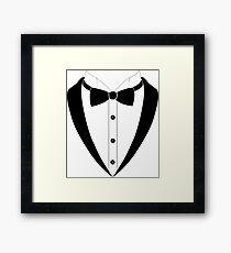 Tuxedo Tux Framed Print