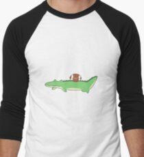 Alligator and Football T-Shirt