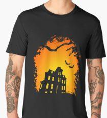 Halloween Shirt Haunted House Men's Premium T-Shirt