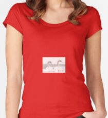 An Elegant Couple Fitted Scoop T-Shirt