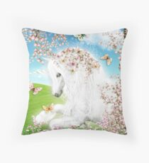 Dreamy Unicorn Throw Pillow