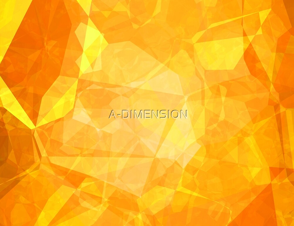 Polygons, Yellow (Wallpaper, Background) by A-DIMENSION