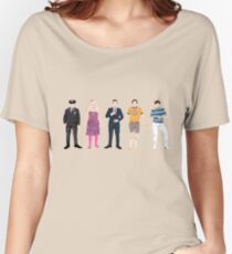The Many Faces of Jimmy Fallon Women's Relaxed Fit T-Shirt