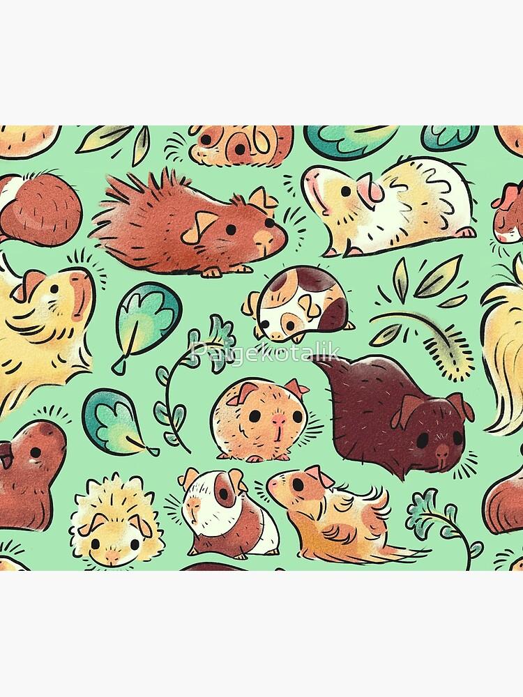 Guinea Pig Huddle by Paigekotalik