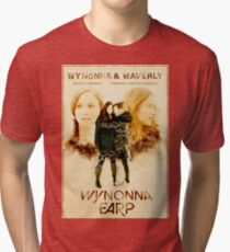 Wynonna Earp - Western Style Cast Poster #12 (The Earp Sisters Special) Tri-blend T-Shirt