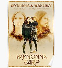 Wynonna Earp - Western Style Cast Poster #12 (The Earp Sisters Special) Poster