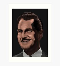 Vincent Price Art Print