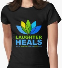 Laughter Heals Women's Fitted T-Shirt