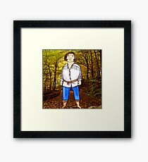 The Princess Bride Fezzik Andre the Giant Illustration by Jayne Kitsch Framed Print
