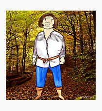 The Princess Bride Fezzik Andre the Giant Illustration by Jayne Kitsch Photographic Print